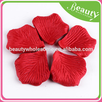 artificial flower petals wedding rose petals ,ADE006HOT, fake red roses