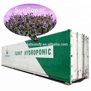 Portable Farming hydroponic barley grass fodder growing system for cattle,goats,sheep,rabbits,livestock