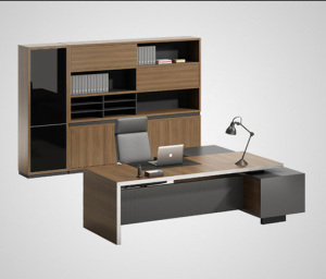 New design high quality used wooden modern office furniture table
