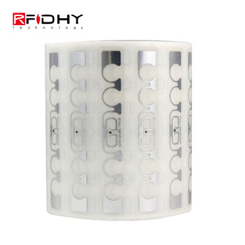 Long Reading Range PET Materials RFID Tag Rewritable with 96 Bits EPC Memory