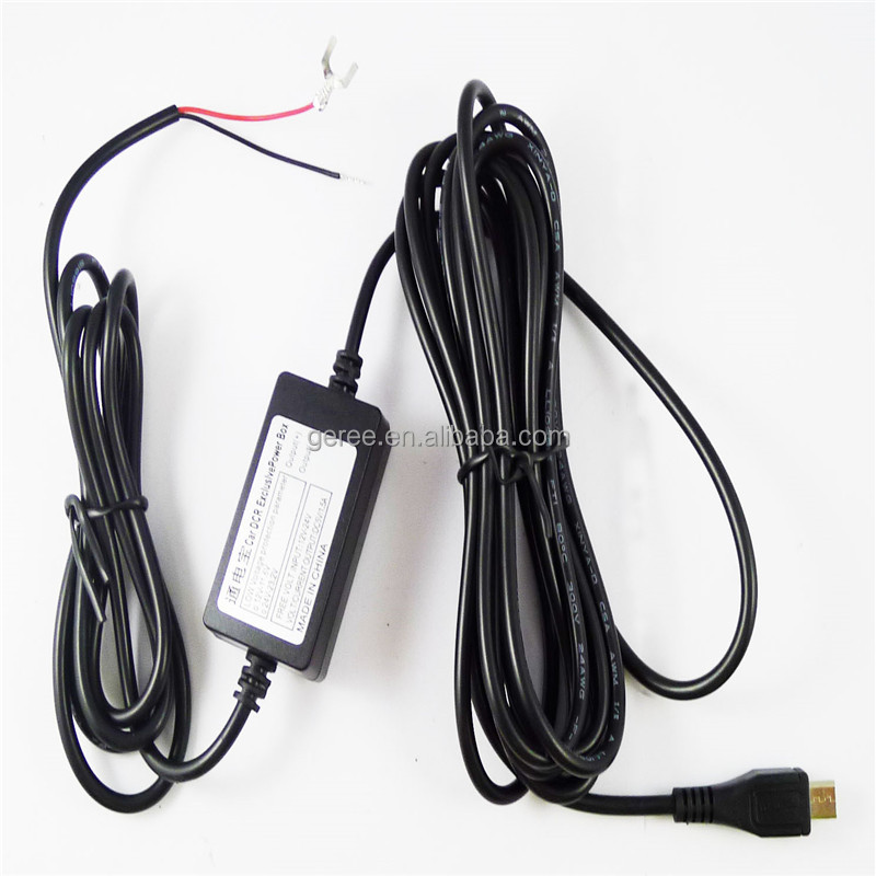 DC to DC step down Converter Module 1M power cable 9V 12V 24V to 5V 1.5A 2M micro USB Cable