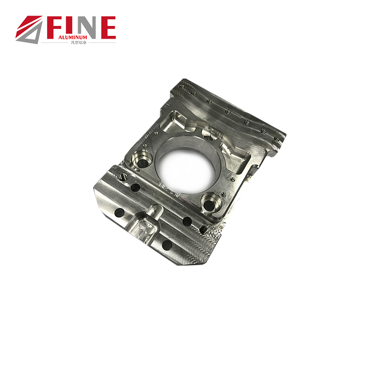 aluminum shaft support motor accessory bearing body cnc part