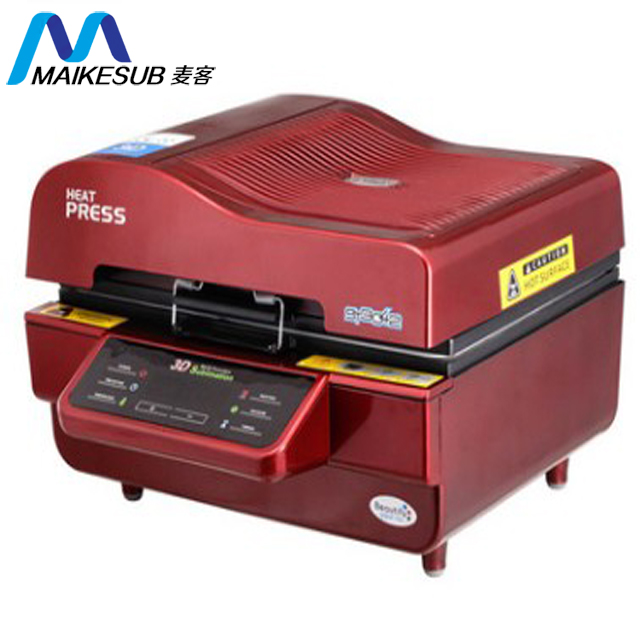 High quality 3D sublimation vacuum heat press machine for printing custom design 3d sublimation machine st-3042