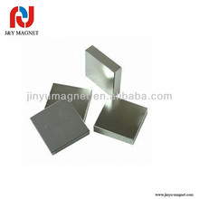 high performance big square block permanent neodymium magnet