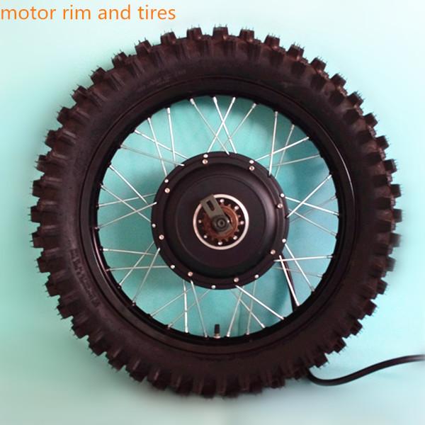 600 1000rmp Min 50h Hub Motor 72v 5000w Electric Bike Kit