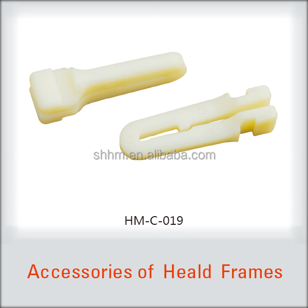 PLASTIC DURABLE SHUTTLE LOOMS PARTS FOR HEALD FRAMES