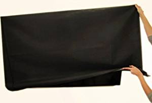 """Large Flat Screen TV's Marine Grade Nylon Dust Covers Ideal for Outdoor Locations Such as Restaurants, Hotels, Marinas or Poolside Locations (47"""" Cover - 43"""" x 4"""" x 25.75"""")"""