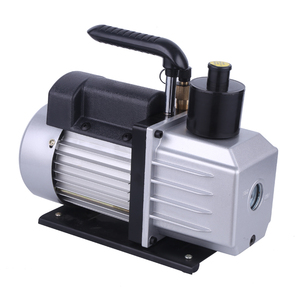 Two Stage rotary vane 1/4HP 2CFM/1.5CFM Double Stage Vacuum Pump for refrigerating system