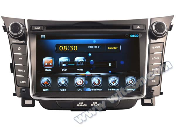 WITSON Android 4.4 FOR HYUNDAI i30 TAPE RECORDER 2011-2013 HD 3G Wifi Multi-touch 3D UI 1080P HD VIDEO
