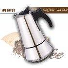 AOTAISI Espresso Coffee Maker / stainless steel coffee maker with High Quality /moka coffee maker stove pot