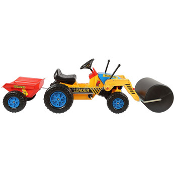 steamroller pedal car toy for kids 414
