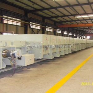 Magnetron sputtering continuous coating production line