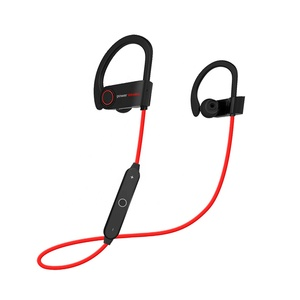 Wholesale New Waterproof Stereo bass sound True Wireless Sport Headset Headphone with microphone