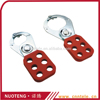 Thin shackle insulation nylon electric lockout hasp