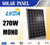 Factory directly sale Guaranteen quality High efficiency A Grade mono crystalline 65cells 250w 260w 270w black solar panel