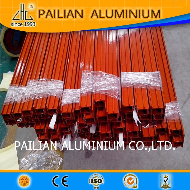 Main Product of ZHl aluminum profiles Powder coating aluminum profile for thousands colors comstomize