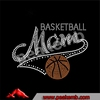 Wholesale Basketball Mom Rhinestone Iron On Patches