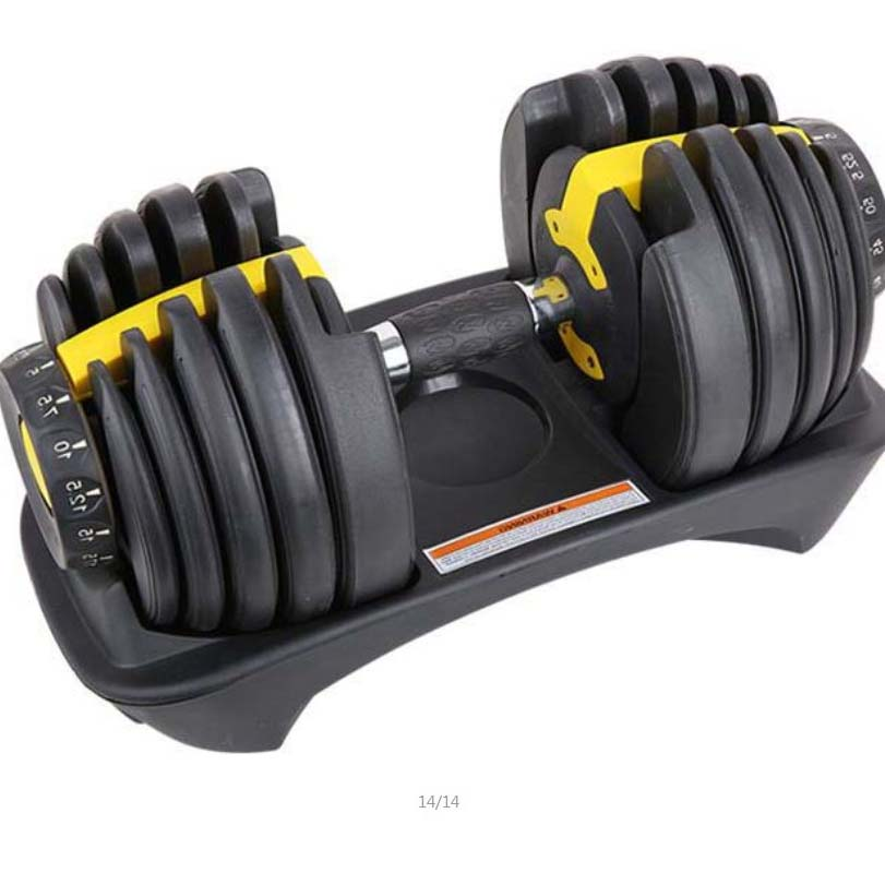 Adjustable Kit Weights Dumbbells