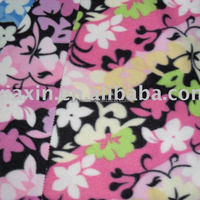 FDY printed polar fleece Fabric for blanket