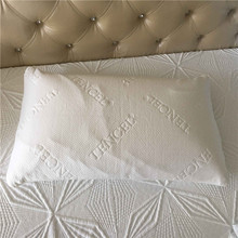 Low price customized logo disposable jacquard pillow case cover