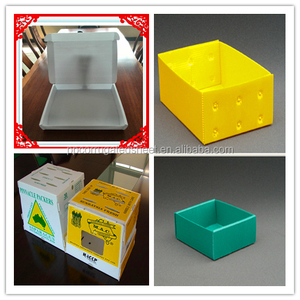PP corrugated plastic cardboard box for fruits and vegetables