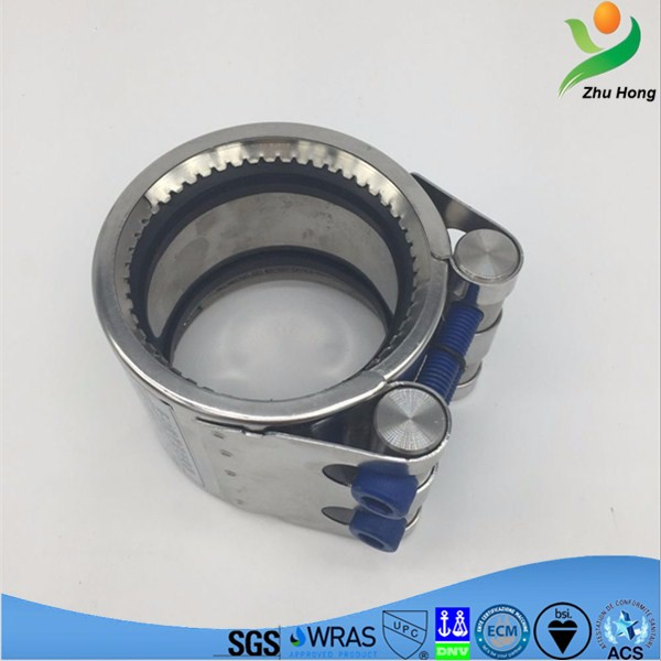 GR-S full circle SUS304 material high quality tube quick-install coupling/worldwide market popular pipe joint