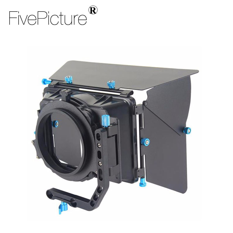 Professional Swing-away Sunshade Rig Matte Box M2 Video Camcorder Camera DV DSLR Cameras For Canon 5D MK II 7D 60D600D
