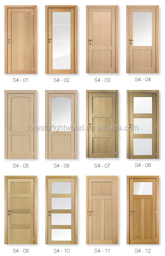 Wood Bathroom Frosted Glass Interior Door Buy Frosted