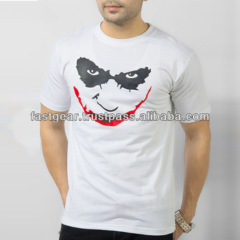 White Cotton Joker T-shirt