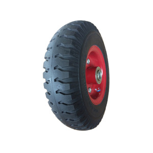 solid pu foam wheel tire 8 inches size 2.50-4