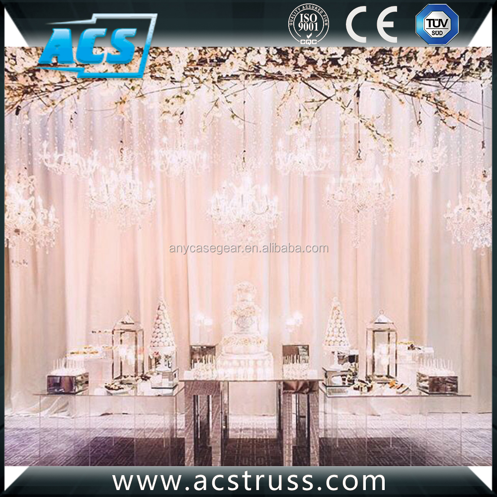 and truss drapes detail drape supplies for aluminum wholesale backdrop product exhibition stand modular wedding pipe buy booth