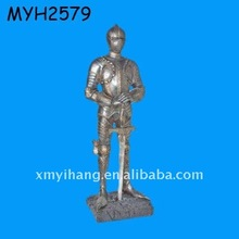 New hot sale Medieval Knights in Armor figurine replica collection