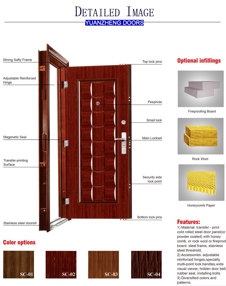 alibaba china online shopping south africa door used exterior steel doors for sale
