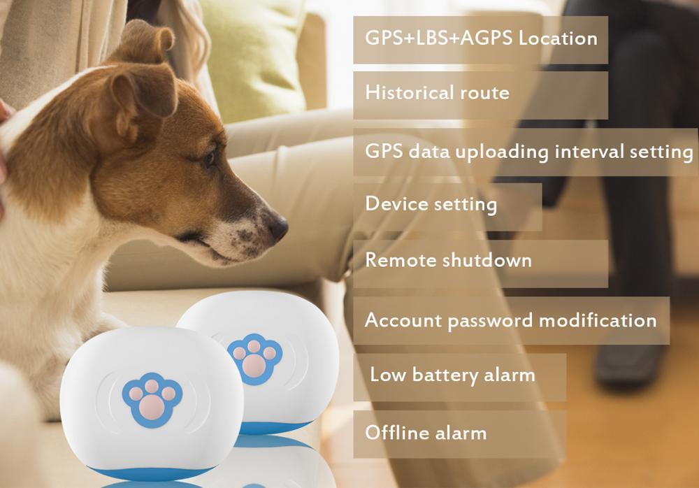 Waterproof IP67 SC904 Mini GPS Tracker Device with Luminous Case Remote Shutdown Pet Tracker GPS