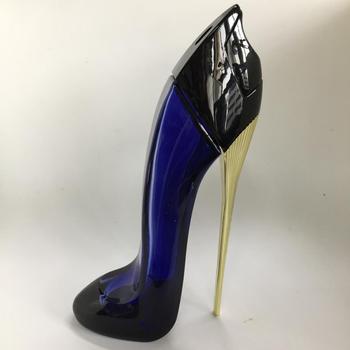 perfume zapato azul