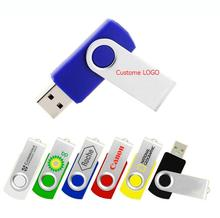 Flash drive rotating usb flash drive U Disk 4GB 8GB 16GB 32GB High Speed memory stick drive external storage