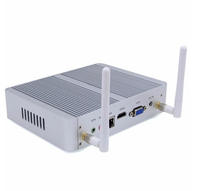 Cheapest Barebone Intel Celeron dual Core N3050 Fanless Mini PC Dual NIC Desktop Computer 1080P HD Media Player