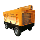 550CFM, 13bar 188psi trailer type portable diesel engine driven air drilling machine compressor for sale