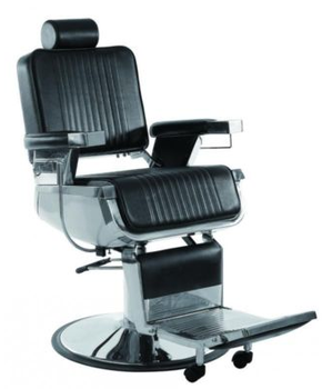 2015 USA Hot Sale Hydraulic Barber Chairs With Stainless Steel  Armrest/Comfortable Barber Chairs With