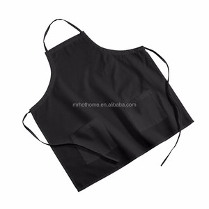 80% cotton 20% polyester white chef apron for different size