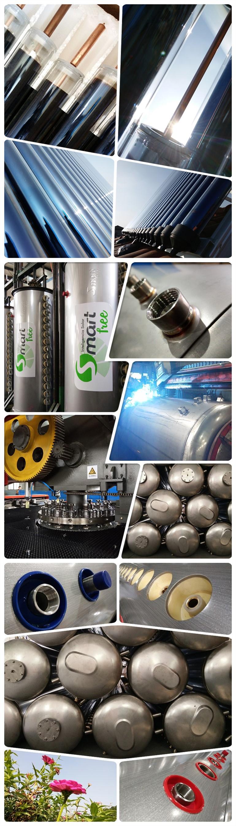 Solar Keymark EN12976 Heat Pipe High Pressure Solar Water Heater (150L)