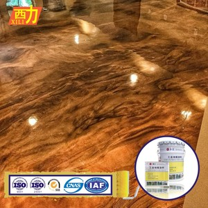 industrial coating metallic epoxy floor for concrete floor