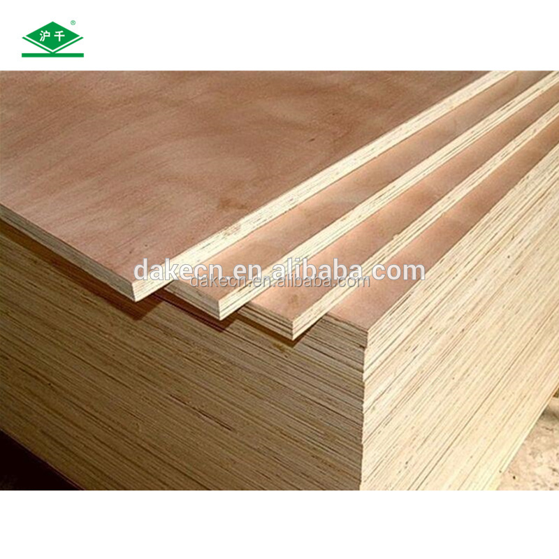 Bintangor/Okoume/ Technical Wood /Oak/Birch Laminated Commercial Veneer Plywood