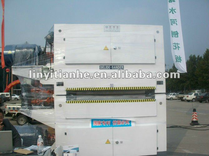 woodwoking machinery ,plywood wide belt sanding machine,hydraulic wide belt sander for woodworking