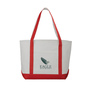 Custom Personalized Foldable Canvas Tote Bag No Minimum