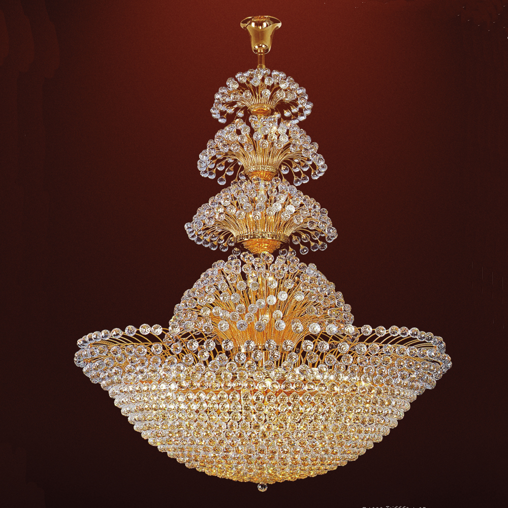 Crystal Chandelier Online India: Grand Indien Ornement Cristal Lustre--ID De Produit