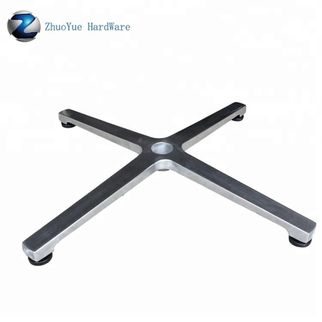 Outdoor 4 star aluminum chair base for swivel sofa chair