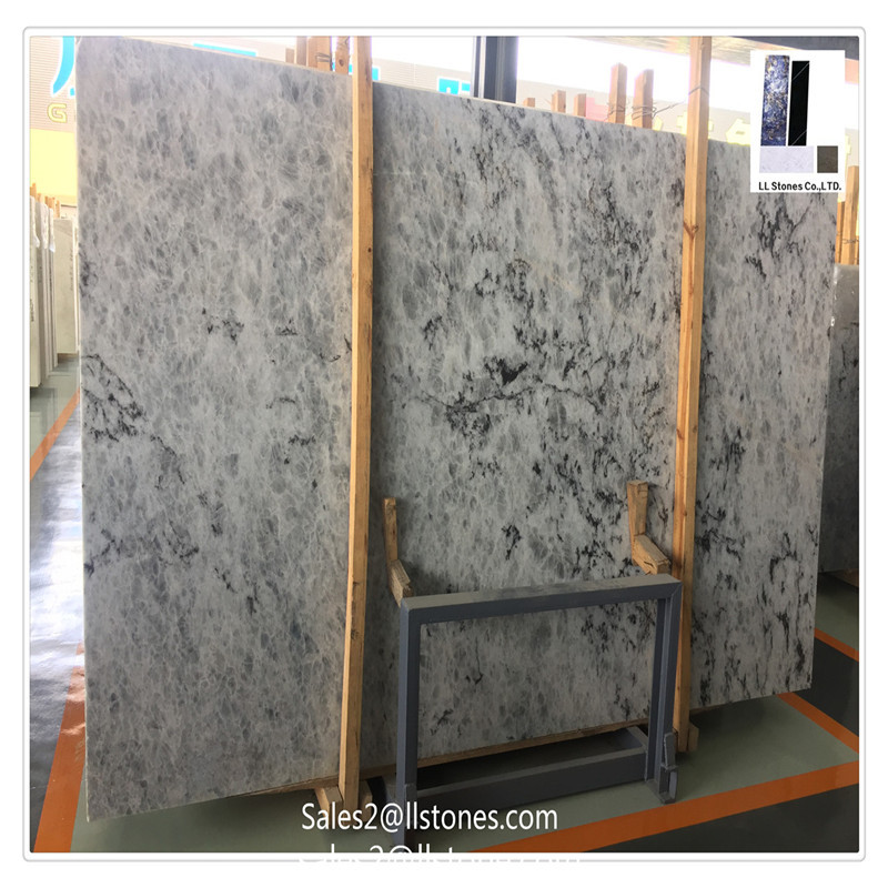 blue traditional marble slabs kitchen countertop houzz ice countertops on berg