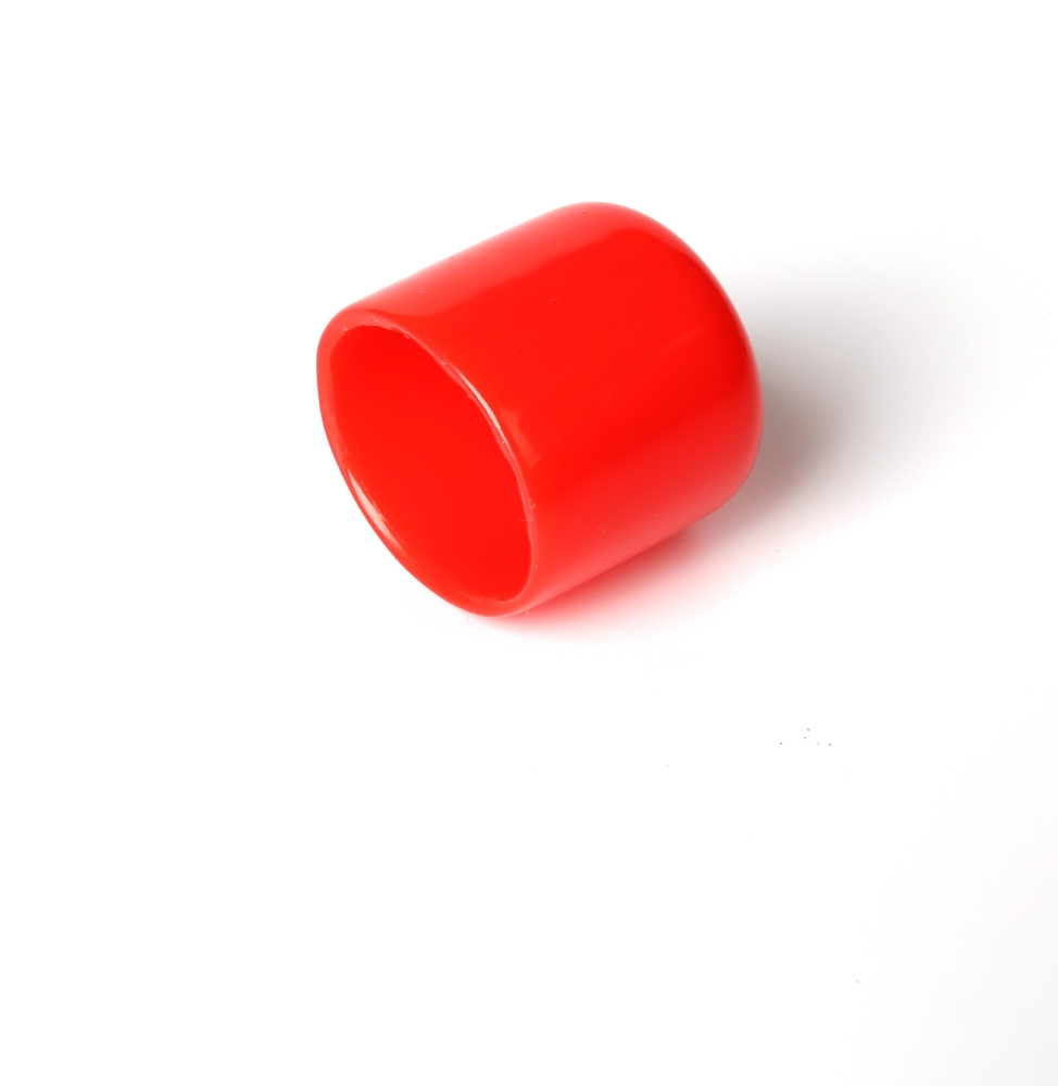 Flexible pvc pipe end cap for protection with any color