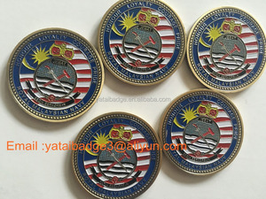 New Arrived Malaysia Army Force award coin